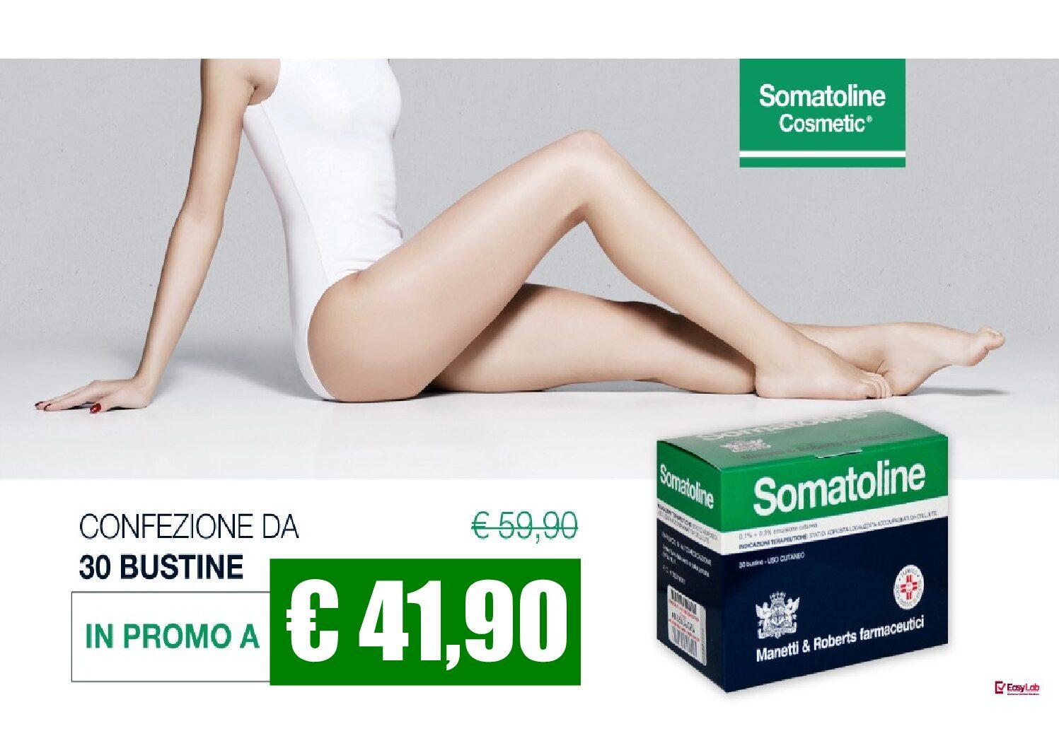 Oggi puoi scegliere la convenienza Somatoline