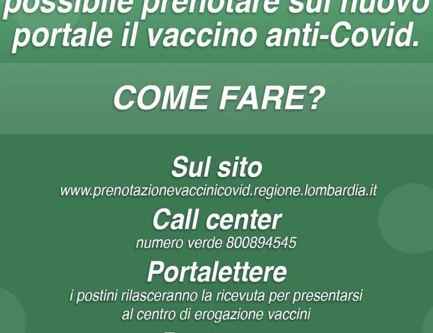 Come prenotare sul nuovo portale il vaccino anti Covid