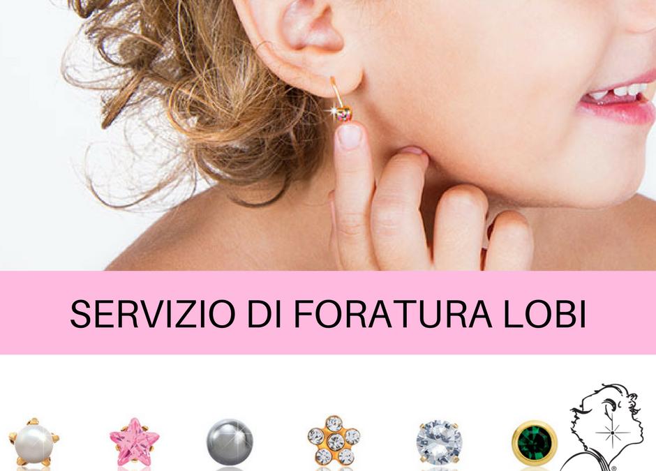 SERVIZIO DI FORATURA LOBI